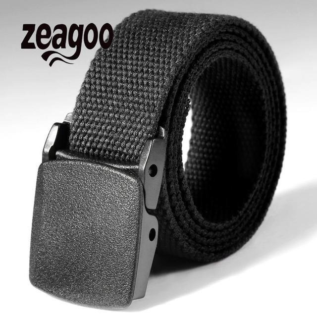 Waist Tactical Adjustable OutdoorBelt Military Nylon Belt Men Army Style Belt Automatic Metal Buckle