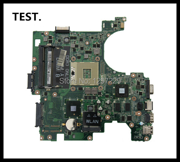 Placa madre del ordenador portátil para dell inspiron 1564 laptop 04 4 04ccpk 4ccpk prueba completa 46 días de garantía ati gráficos hd4330