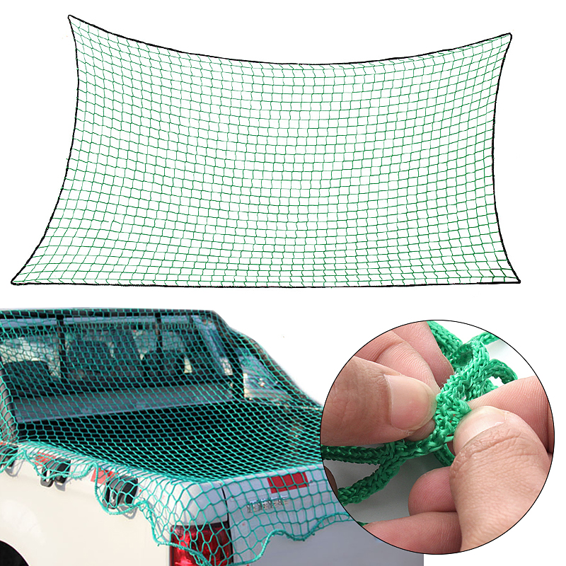 Roof-Luggage-Nets Mesh-Covers Cargo-Net Trailer Pickup Truck Strong Extend Dumpster Heavy
