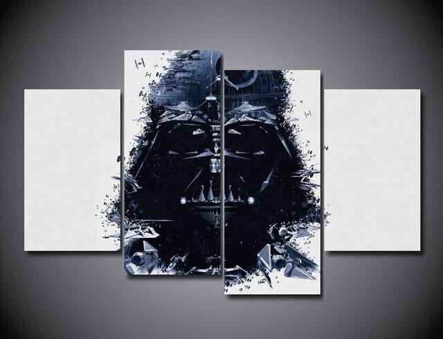 Drukuj Art Star Wars Darth Vader Movie Poster Obraz Salon Dzieci