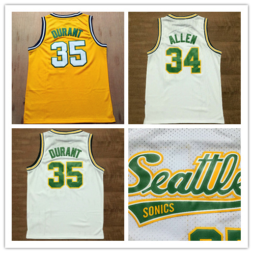 ac5fe49c4 ... purchase seattle supersonics 35 kevin durant white throwback retro  vintage basketball jerseyembroidered logossizes xxlfree shipping in