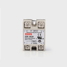 цена на SSR 50DA  input 3-32V DC load 24-380V AC single phase DA solid state relay Include Heat Sink SSR-50DA