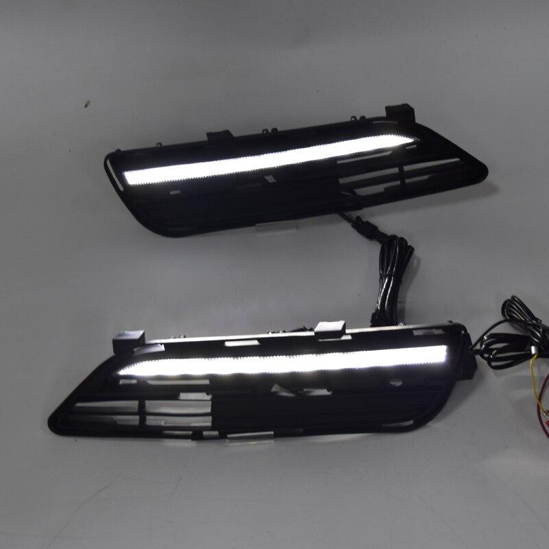 Bonne qualité LED feu de brouillard pour Toyota Mark X LED DRL 2010-12 LED feu de jour pour Mark X pièce de voiture anti-brouillard
