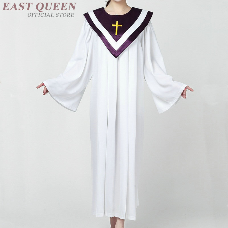 1e27f45bf9cc0 US $39.6 45% OFF|Clergy robes adult priest costume dress choir church  dresses Christian clothing DD1273 on Aliexpress.com | Alibaba Group