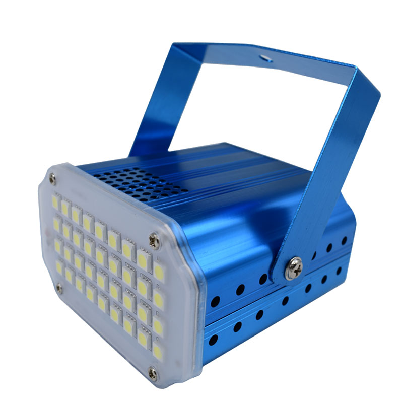 36 Led DJ Disco Strobe Light/LED Flash/voice Music Control Stroboscope Stage Lighting Effect Party Show