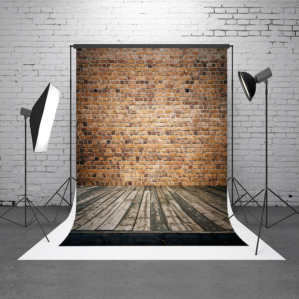 KATE Brick Wall Background Photography Backdrop Children Screen Backdrop Wood Floor Photos Background For Photo Studio 5x10ft 1 5x3m vivid brick wall and weathered wood floor printed studio photography backdrop background for photo studio n 014