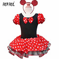 Kids infant Baby Girls Birthday Party Cosplay Costume Pary Fancy Tulle Tutu Dress up with Ear Headband Best Gift 1-10Y