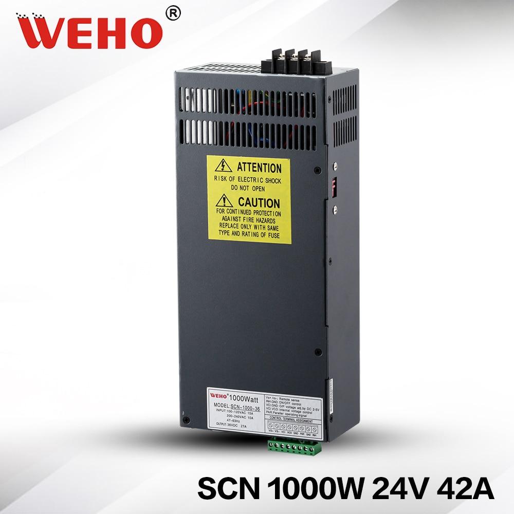 (SCN-1000-24) ac dc power converter 24v 1000w dc power supply 24v 1000w limit switches scn 1633sc