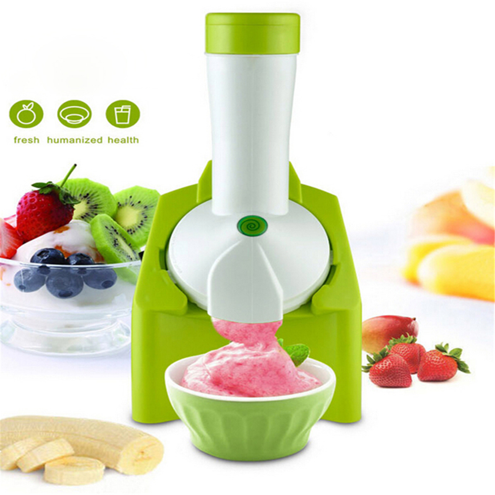 1.5L Multi-functional Electric Frozen Fruit Maker Ice Cream Yogurt Sorbet Custard Sherbet Gelato Making Machine  Kitchen Tools