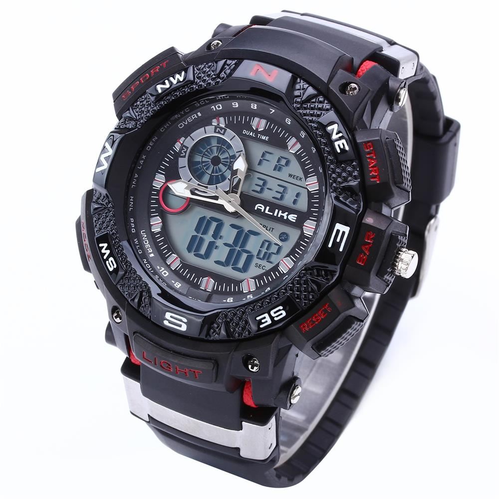 G Style Shock ALIKE Waterproof Outdoor Sports Watches Men Quartz Watch Clock Digital Military LED Wrist