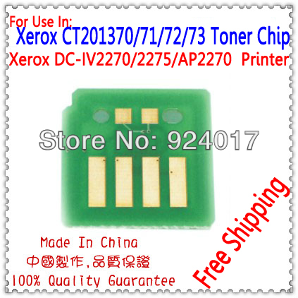 For Xerox CT201829 CT201830 CT201831 CT201832 Toner Cartridge Chip For Xerox 2270 2275 3370 3375 4470