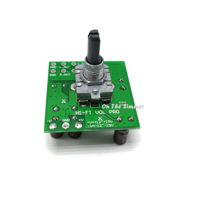 PGA2310 High-end Volume Control Board