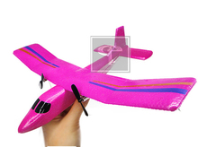 Free Shipping Hot Sell new aircraft model toy FX 802 2.4G 2CH hand THROWING plane glider aerodone toys for kids festival gift