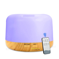 Aroma Essential Oil Diffuser Humidifier 300ml Air Purifier Mist Humidifier Aromatherapy Diffuser With 7 Color LED