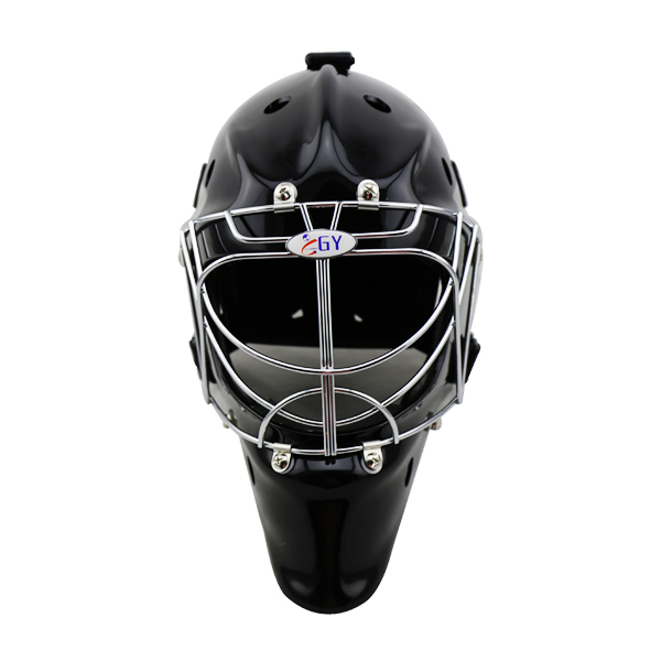 GY Profession Floorball Helmet Street Hockey Mask with Cool Cat Eye Cage Protective PE Foam Liner Streetball Helmet gy sports pp outshell comfortable epp liner ice hockey helmet head protector hockey equipment with face mask for sale