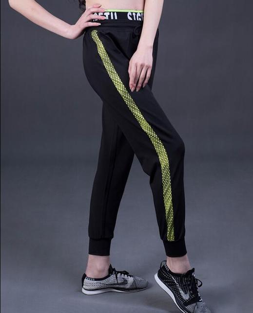 Women Elastic Sport Leggings Bodybuilding Fitness Pant Leggins Sportswear  Gym Running Tights Trousers Professional Sports Cloth fedec6a6ddf7