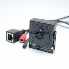 2.1mm Wide Ang lens mini Audio video camera 1.3 megapixel mini IP camera H.264 with microphone camera for 960p Security Camera