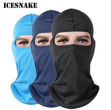 ICESNAKE Breathable Motorcycle Face Mask Soft Cap Hats Full Quick-Drying