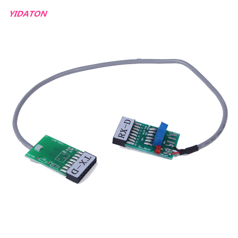 YIDATON Radio Relay Station Repeater <font><b>Connector</b></font> Cable TX-RX Time Delay for <font><b>Motorola</b></font> <font><b>GM300</b></font> GM338 GM3188 GM3688 GM950I GM950E SM120 image