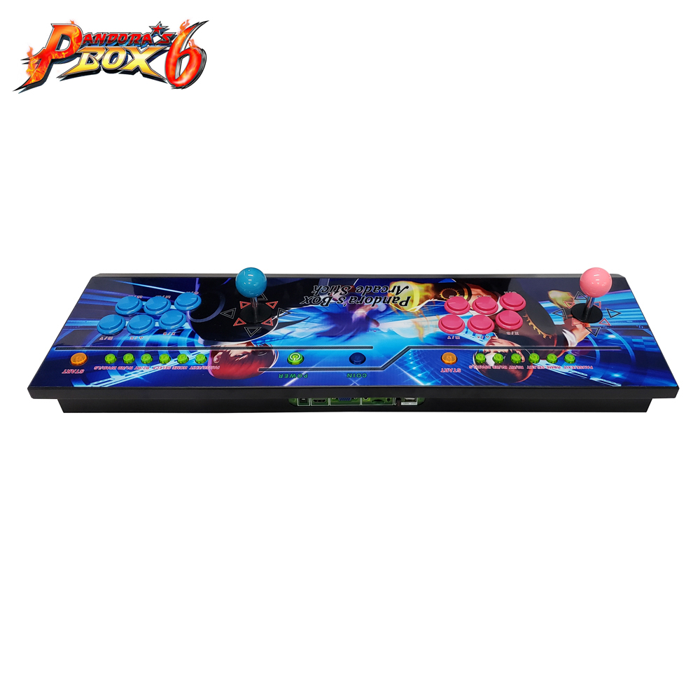 2019 Newest HD VGA output DIY arcade Video game machine consoles with 1300 in 1 multi game board Pandora's Box 6 made in China