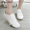 New Tide Students Canvas Casual Shoes Fashion Flat Shoes For Women Canvas Shoes Breathable White Shoes ZY153