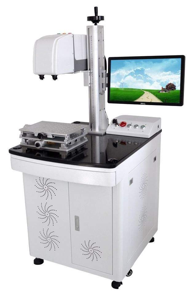 XAC Laser High Efficiency 3d Emboss Laser Marking & Engraving Machine For Metal Commemorative Coin