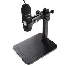 Портативный USB Цифровой Микроскоп 1000X8 LED 2-МП Цифровой Микроскоп Эндоскопа Лупа Камера + Лифт Стенд + Калибровка Правитель