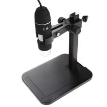 On sale Portable USB Digital Microscope 1000X 8 LED 2MP Digital Microscope Endoscope Magnifier Camera+Lift Stand+Calibration Ruler