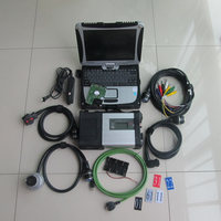 Super MB Star C5 SD Connect With Laptop Cf 19 Toughbook Diagnostic PC With Star Diagnosis