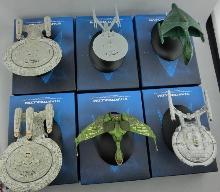 Toys & Hobbies Qualified Star Trek Alloy Spaceship Model Toys Pvc Action Figures Collectible Toys For Children Gifts