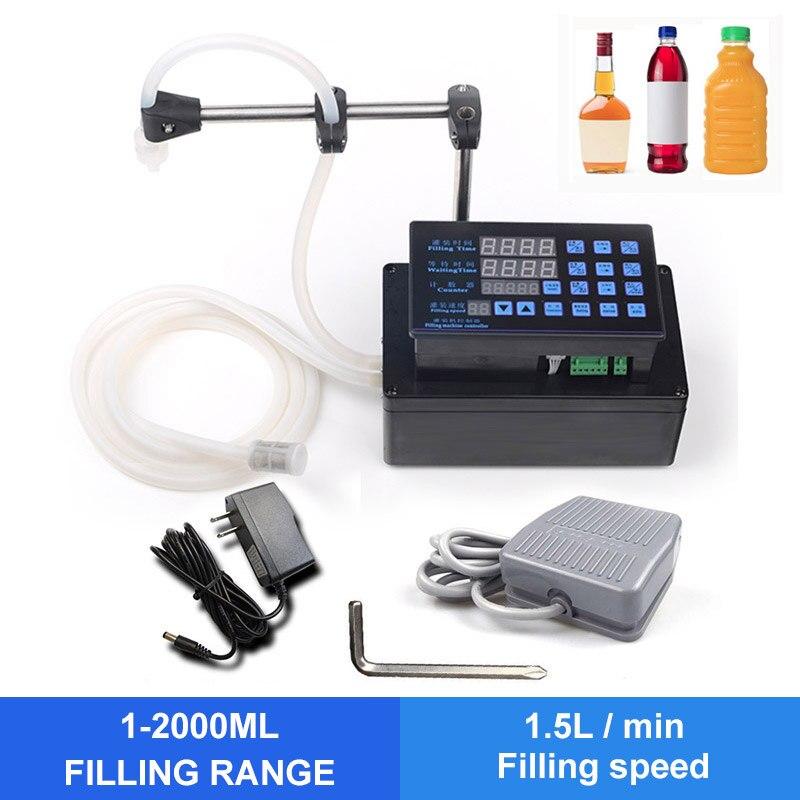 Ytk precisão digital máquina de enchimento líquido engarrafado água enchimento bomba digital para perfume beber água leite azeite