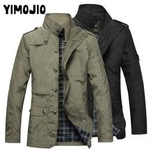 Coat Men Casual Long jacket men Trench coat Streetwear Slim Thin coat men Solid Male Windbreaker Trenchcoat in men Zipper Hot