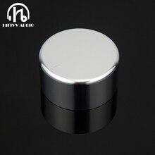 Алюминиевый усилитель звука HIFI, ручка громкости 1 шт., диаметр 44 мм, Высота 22 мм, ручка потенциометра усилителя
