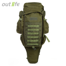 Outlife 60L Water Resistant Military Tactical Backpack Outdoor Camping Hiking Large Capacity Back Packs Travel Trekking Rucksack