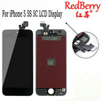 Redberry 100 A Quality LCD Assembly For IPhone 5 5S 5C LCD Display With Touch Screen