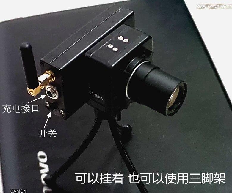 ФОТО 0.00003 LUX 100m Wireless WIFI Infrared Digital Night Vision Camera Spotting Scope Lens Bird Goggles DIY