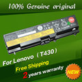 Free shipping Original laptop Battery For Lenovo Thinkpad W530 L430 T430 T530 W530I L530 T430I T530I 48WH