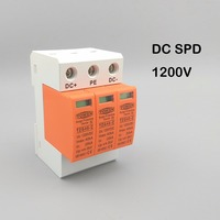 SPD DC 1200V 20KA~40KA House Surge Protector Protective Low voltage Arrester Device