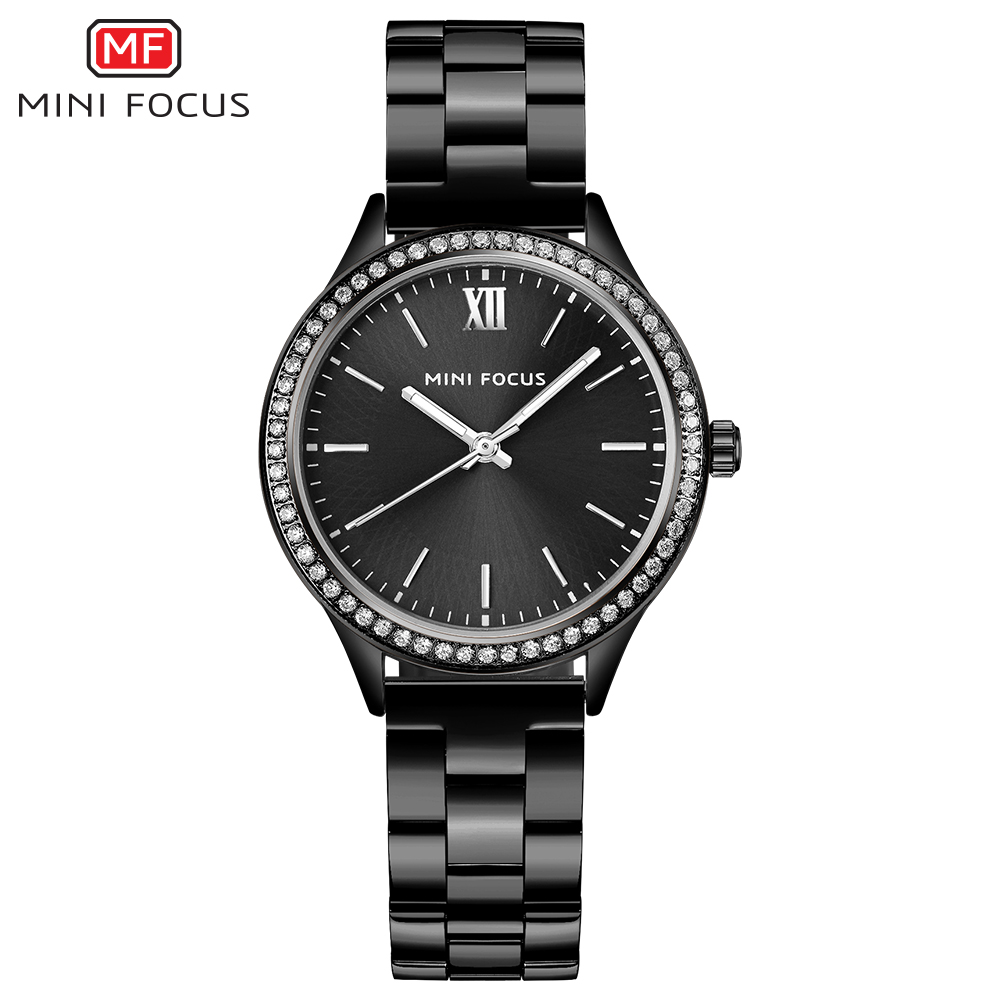 MINIFOCUS Fashion Quartz Watch Women Watches Ladies Girls Famous Brand Wrist Watch Female Clock Montre Femme Relogio MF0043L.04