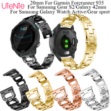 20mm Strap For Samsung Galaxy Watch Active/Galaxy 42mm/Gear S2/Gear sprot smart watch band For Garmin Forerunner 245 bracelet цена 2017