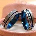 1 Peça!!! Anéis De Casamento Do Aço inoxidável Banda Coreano Jóias Anéis Casal, dele e dela conjuntos anel de compromisso Para homens e mulheres