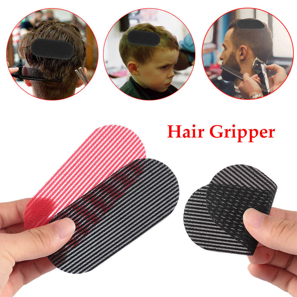 2pcs Men's Hair Gripper New Trimming Hair sticker Hair Styling Cutting Trimming Barber Gripper No trace Hair Holder Accessories