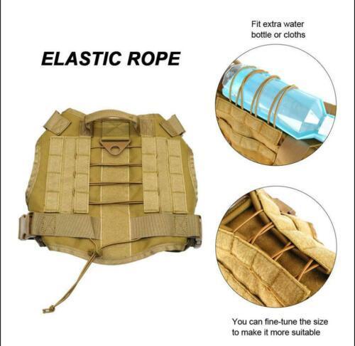 Tactical Police K9 Vest Harness 6
