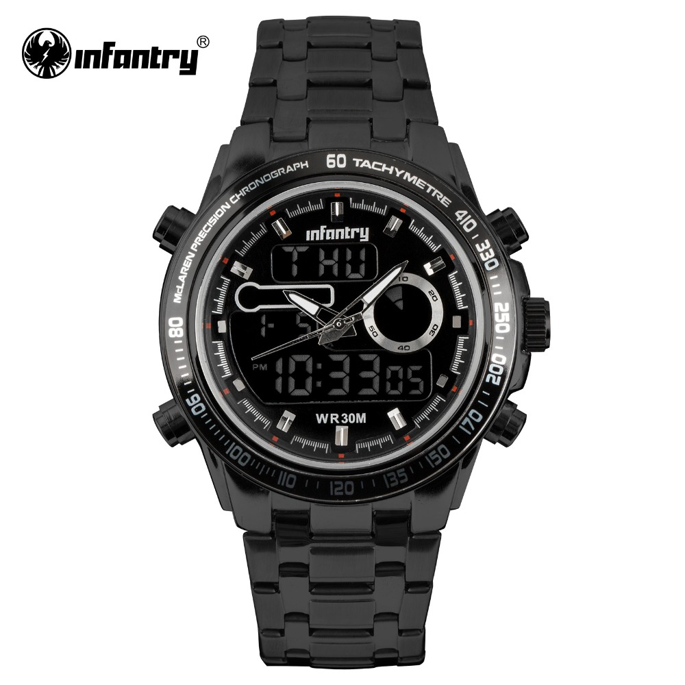 цена на INFANTRY Military Watch Men Digital Quartz Watch for Mens Watches Top Brand Luxury Luminous Tactical Army Relogio Masculino 2018