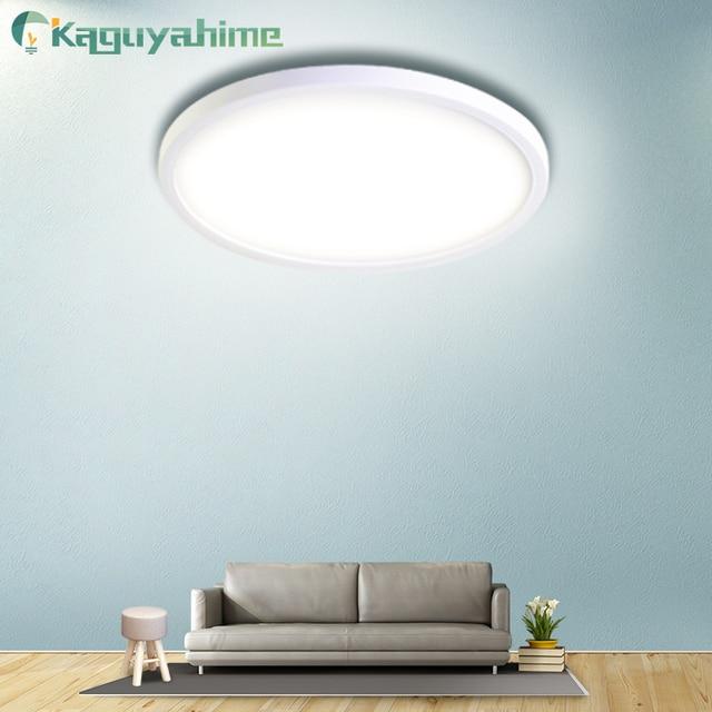 Kaguyahime LED ضوء السقف 36 W 24 W 18 W 13 W 9 W 6 W أسفل ضوء سطح جبل مصباح لوحة 85 265 V الحديثة UFO مصباح المنزل إضاءة زينة