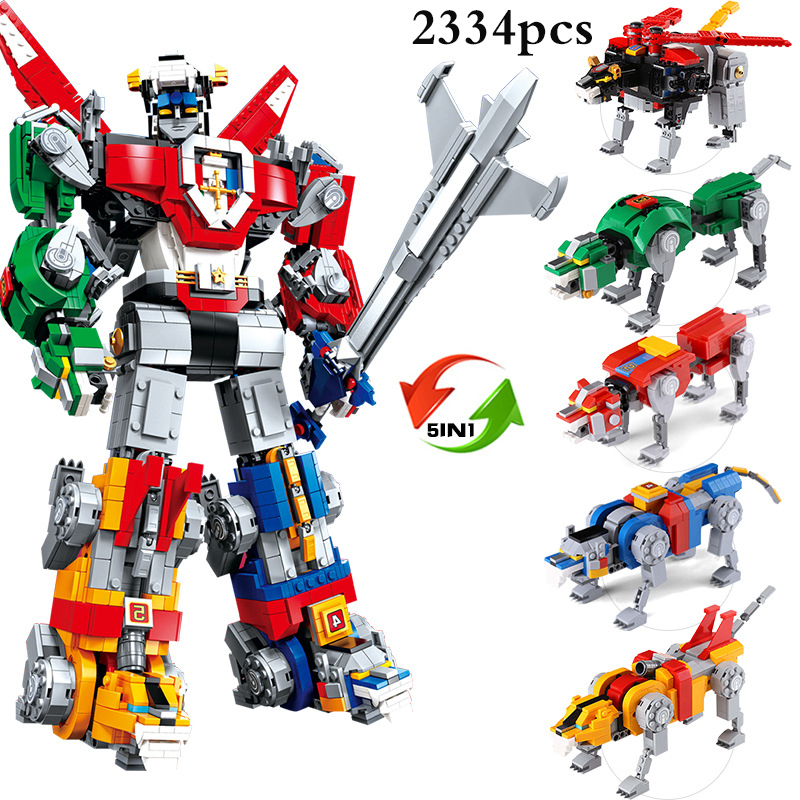 5 in 1 Super Hero Robot Armor Toys Ninjagoing Movie Figures Model Building Blocks Compatible Legoed City Children Toy Xmas Gifts 20cm ogrum 44007 robot brain attack hero factory 5 0 star soldier action figures model building bricks blocks kids toys gifts