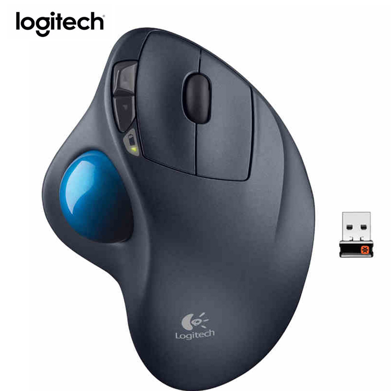 Logitech M570 souris sans fil Trackball dessin souris Support bureau Test avec récepteur USB 1000 dpi pour PC de bureau/ordinateur portable - 2