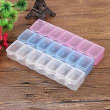 7 Day Mini Weekly Medicine Box Holder Organizer Container Pill Storage Cases New Levert Dropship mar3