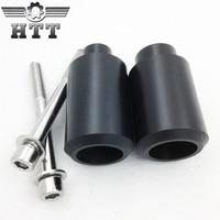 Aftermarket free shipping motorcycle parts Frame Slider Crash Protector For Honda 1999 2000 2001 2002 2006 CBR 600 F4 F4i Black