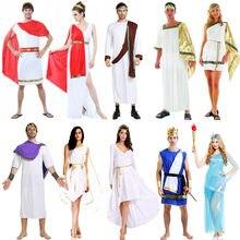 b9c2ab06a6 Adulti Grecia Antica Cosplay Costume Dea di Halloween Costumi di Carnevale  per le Donne Degli Uomini Vestito Operato di Natale F..